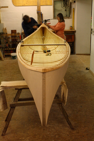 Canoe building courses